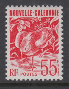 New Caledonia 675 Bird MNH VF