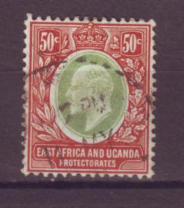 J20969 Jlstamps 1907-8 E.africa & uganda proct mlh #38 king