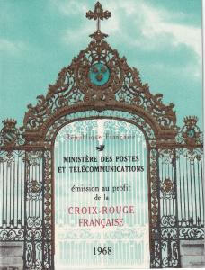 France #B421a Red Cross Booklet  CV $3.00 Z48