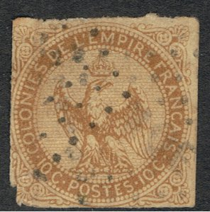 FRENCH COLONIES 1859 - 65 EAGLE & CROWN