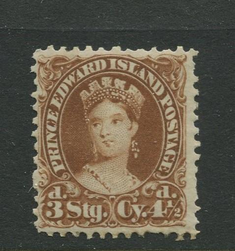 Prince Edward Is. -Scott 10 -QV Definitive Issue -1870 -MNH -Single 4.1/2p Stamp