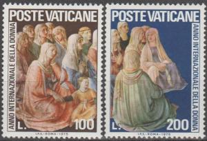 Vatican City #588-9 MNH VF (ST1686)
