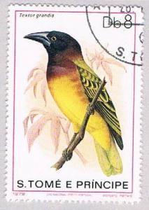 Saint Thomas and Prince Is 545 Used Bird (BP20416)