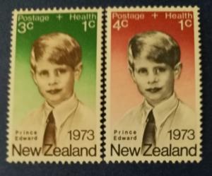 New Zealand # B87-B88 MNH