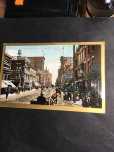 Toronto Unused View Card Yonge St. Looking South From Shuter. Prob Aroiund 1905