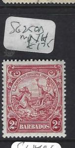 BARBADOS  (PP1903B)  2D  SG 250A  MNH