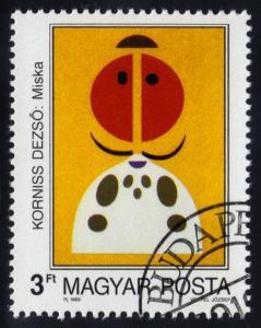Hungary #3209 Modern Art, CTO (0.25)
