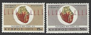 Cyprus #378-379 MNH Full Set of 2