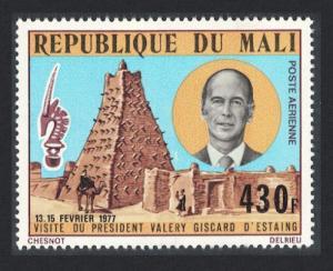 Mali Visit of President Giscard d'Estaing of France SG#570 SC#C95