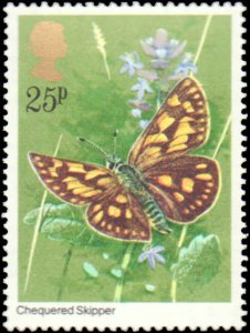 Great Britain #941-944, Complete Set(4), 1981, Butterflies, Never Hinged