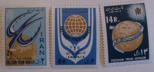 Iran 1240-2  MNH Full Set  Cat $15.00 UN, Freedom from Hunger Topical