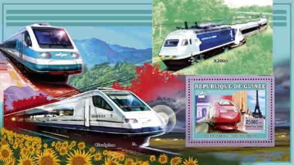 Souvenir Sheet Srl18215b Sierra Leone 2018 Butterflies On Stamps