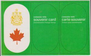 Canada - 1970 Souvenir Card #SC12