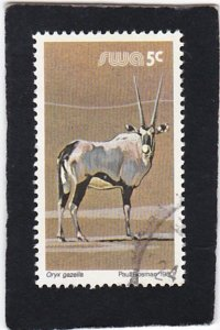 South West Africa,  #   451    used