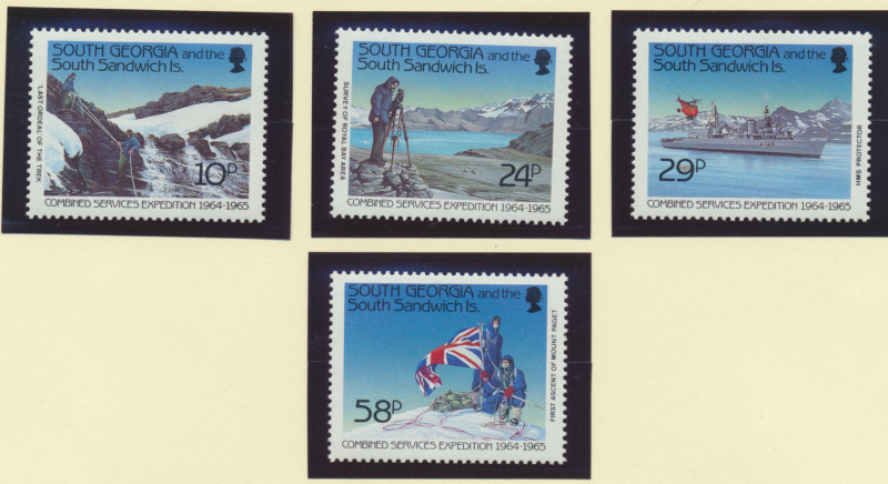 South Georgia (& South Sandwich Islands) Stamps Scott #139-42, Mint Never Hin...