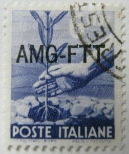 Italy AMG FTT Trieste 1949-50 Democratica 6L fine used A16P9F662