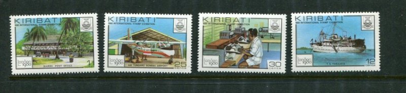 Kiribati MNH 382-5 Plane & Ship 1980