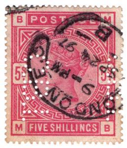 (I.B) QV Commercial Perfin : SG 181 (C B I)