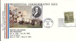 1973, Presidential Commemorative Issue- Martin Van Buren (D12579)