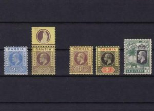 gambia mounted mint  stamps ref r13620