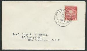 AMERICAN SAMOA 1929 2c Edison on cover ex PAGO PAGO........................27409