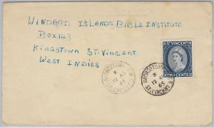 ST VINCENT  -  POSTAL HISTORY - COVER with nice postmark: GEORGETOWN - 1965