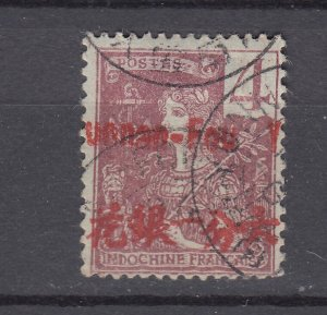 J28869, 1906 france office china yunnan fou used #19 ovpt