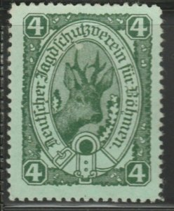 Hunting Protection in Bohemia Cinderella Poster Stamp Reklamemarken A7P4F796