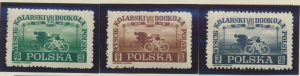 Poland Stamps Scott #423 To 425, Mint Hinged - Free U.S. Shipping, Free World...