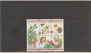 SWEDEN 1766-1771 MNH 2014 SCOTT CATALOGUE VALUE $7.50