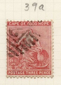 Cape of Good Hope 1880 Early Issue Fine Used 3d. 284448