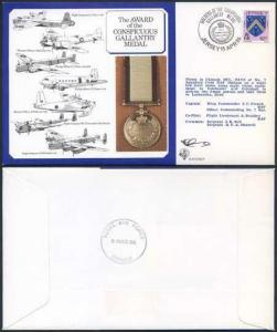 DM9a Award of the Conspicuous Gallantry Medal Signed by French (B)