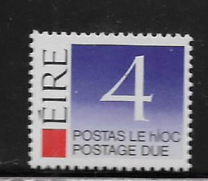 IRELAND, J40, MNH, POSTAGE DUE STAMPS