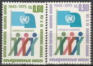 UN Geneva #50-51 MNH F-VF  (V3849)