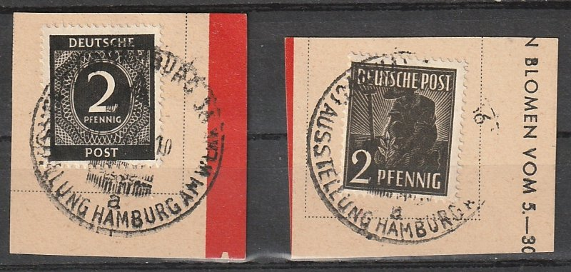 #531,557 Germany Used Cancels