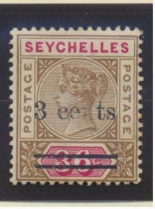 Seychelles Stamp Scott #31, Mint Hinged