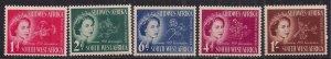 South West Africa 1953 QE2 Set Coronation Umm SG 149 - 153 ( L1445 )