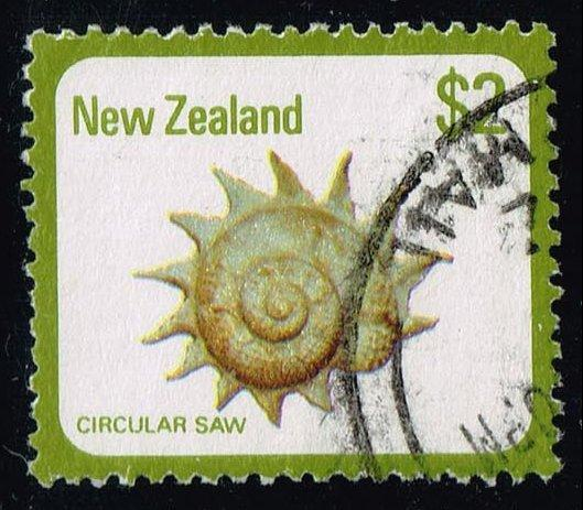 New Zealand #697 Circular Saw Shell; Used (1.00)