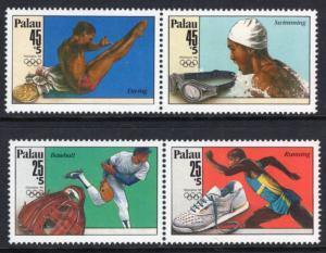 Palau B1-B4a Olympics MNH VF