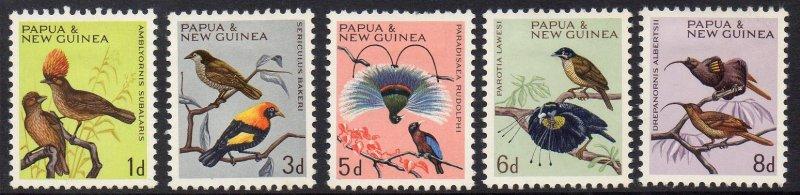 Papua New Guinea MH Native Birds