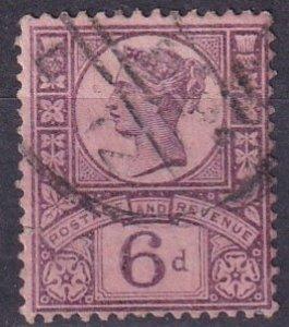 Great Britain #119  F-VF Used CV $12.50  (Z3426)