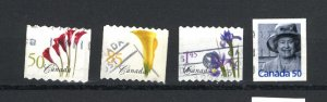 Canada #2072-75  -3  used VF 2004 PD