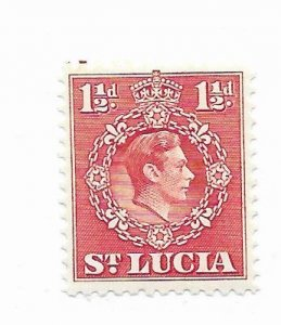 St. Lucia #113 MH - Stamp - CAT VALUE $1.00