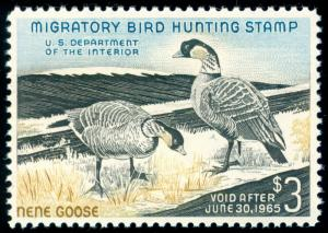 MOMEN: US STAMPS #RW31 MINT OG NH DUCK XF