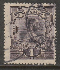 MEXICO 310, 1¢ INDEPENDENCE CENTENNIAL. USED. F-VF. (415)