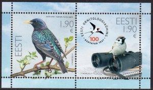 ESTONIA 2021 BIRDS ORNITHOLOGICAL SOCIETY OISEAUX VOGEL UCCELLO AVES [#2108]
