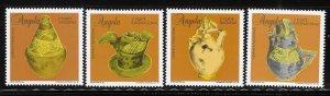 Angola 1995 Traditional Ceramics Sc 930-933 MNH A1269