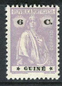 PORTUGUESE GUINE;  1914-20s early Ceres issue fine Mint hinged 6c. value