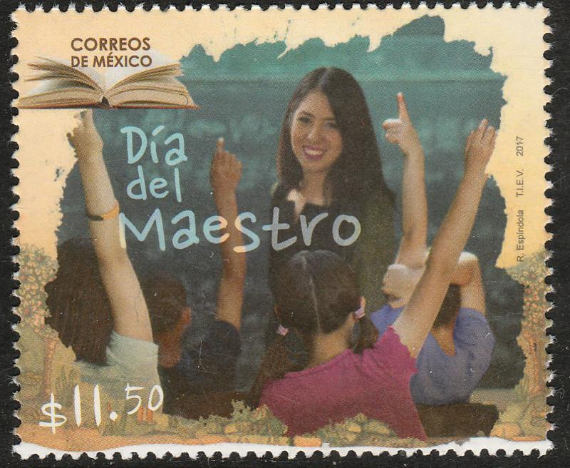 MEXICO 3054, Teachers Day. MNH
