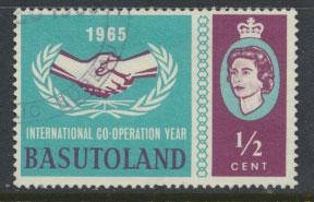 Lesotho / Basutoland  SG 100  Used Internation Co-operation